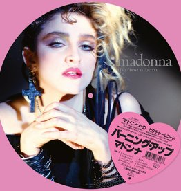 Madonna - Madonna [LP] (Picture Disc, PVC sleeve, heart shaped obi-sticker, lyric insert, limited to 5000, indie-retail exclusive)