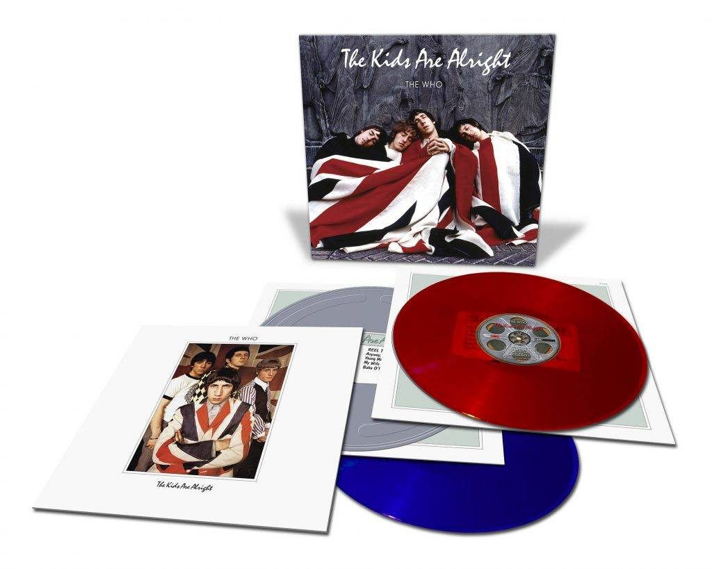Who, The - The Kids Are Alright [2LP] (Blue & Red 180 Gram Vinyl, 20 pg booklet, limited to 3000, indie advance exclusive)