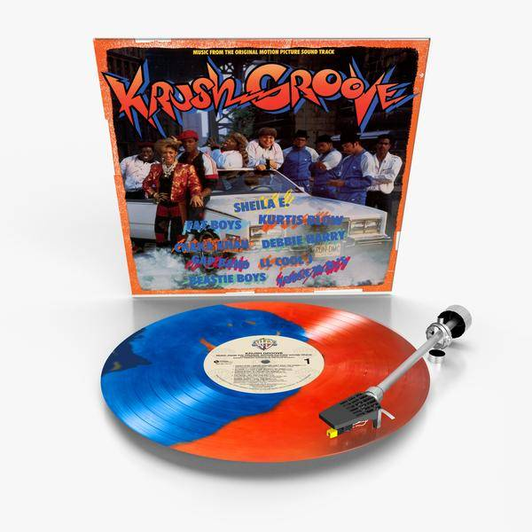 Various Artists - Krush Groove (Soundtrack) [LP] (Orange & Blue Haze Colored Vinyl, feat. LL Cool J, Beastie Boys, Kurtis Blow, Run-DMC and more, limited to 1500, indie-retail exclusive)