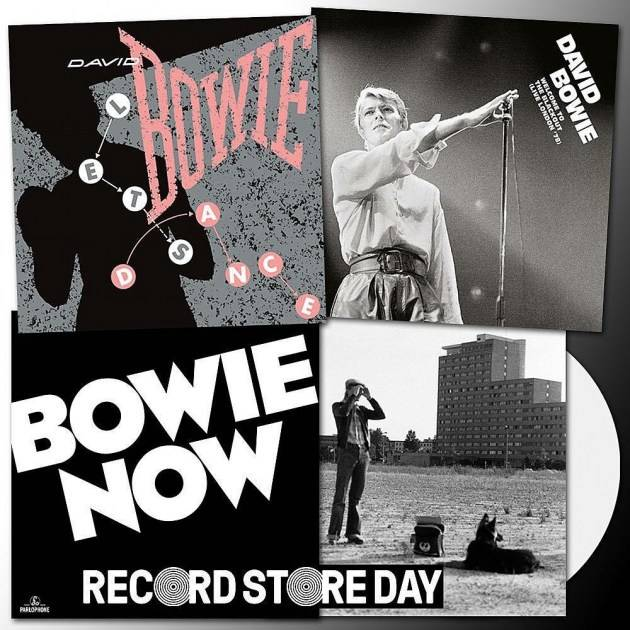 David Bowie - Now [LP] (White Vinyl, limited, indie-retail exclusive)