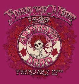 Grateful Dead - Fillmore West, San Francisco, CA 2/27/69 [4LP] (180 Gram, etching, first time on vinyl, limited to 7000, indie-retail exclusive)