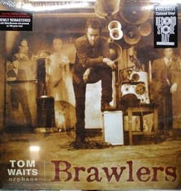 Tom Waits - Brawlers [2LP] (180 Gram, Translucent Red Vinyl, limited to 4500, indie-retail exclusive)