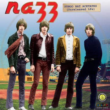 Nazz - The Fungo Bat Acetates [2LP] (Red Vinyl, limited to 1500, indie advance exclusive)