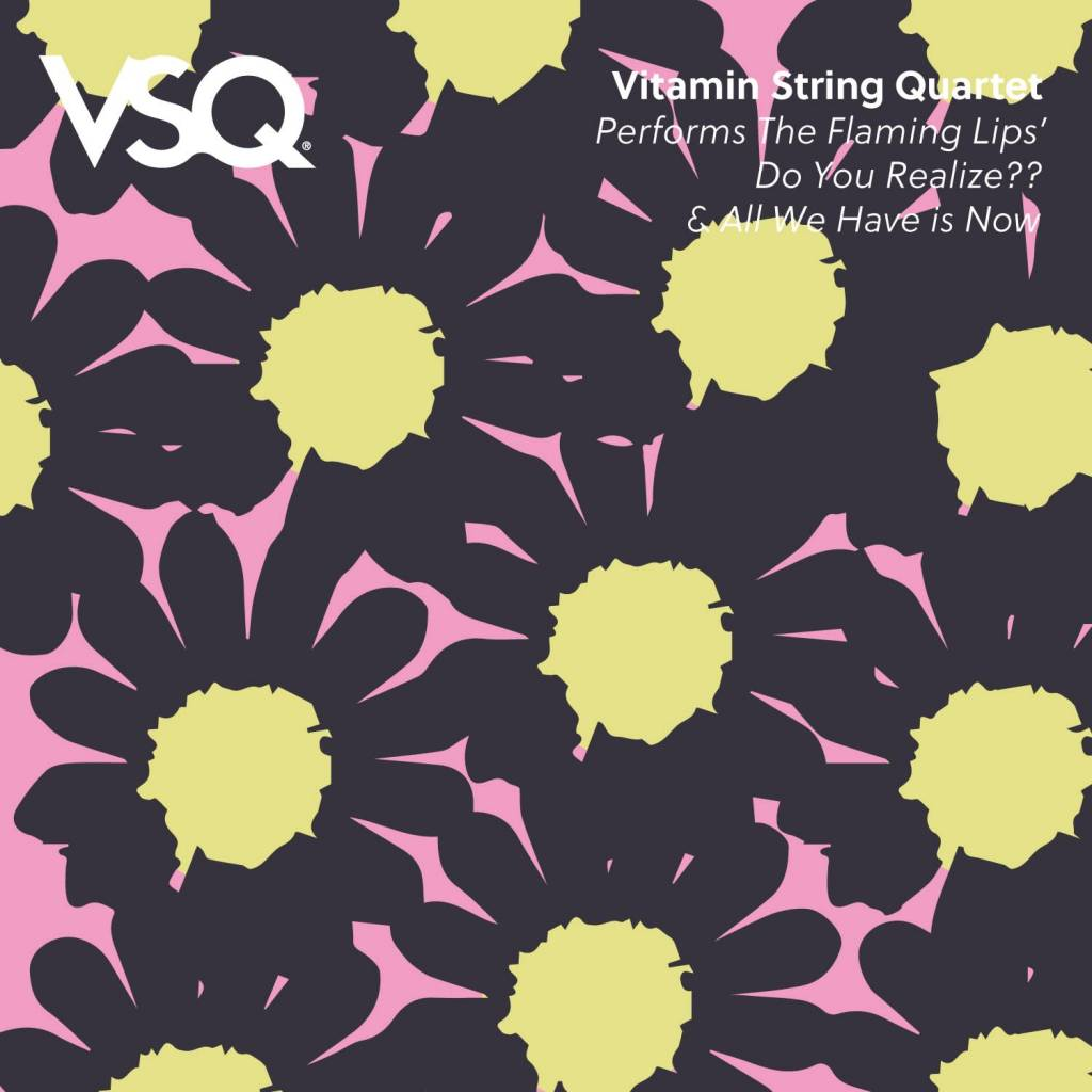 Vitamin String Quartet - Flaming Lips' Do You Realize / All We Have Is Now [7''] (Clear Pink Vinyl, full color sleeve, limited to 1000, indie advance exclusive)