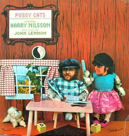 Harry Nilsson Produced By John Lennon - Pussy Cats [LP] (''Hardwood'' Brown Vinyl, 6-page jacket with lyrics, first time on vinyl, limited to 1500, indie-retail exclusive)