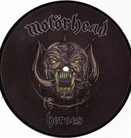 Motorhead - Heroes [7''] (Picture Disc, cover of David Bowie's classic cut ''Heroes'', limited to 1000, indie-retail exclusive)