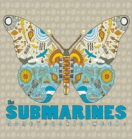 Submarines, The - Honeysuckle Weeks [LP] (180 Gram, gatefold, first time on vinyl, die-cut butterfly cover, bonus vinyl stickers, limited to 1000, indie advance exclusive)
