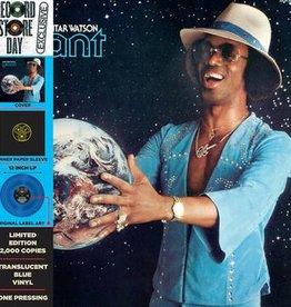 Johnny Guitar Watson - Giant [LP] (Blue Vinyl, printed inner sleeves, cardboard jacket with OBI, limited, indie-retail exclusive)