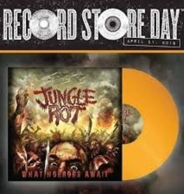 Jungle Rot - What Horrors Await [LP] (Opaque Yellow Vinyl, download, first time on vinyl, limited to 800, indie-retail exclusive)