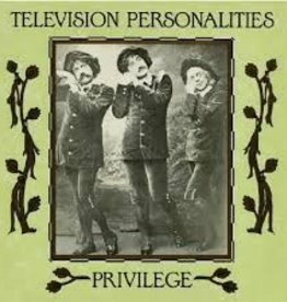 Television Personalities - Privilege [LP] (Marbled Black & White Vinyl, remastered, limited to 1500, indie-retail exclusive)