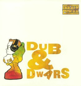 Brainpower - Dub & Dwars [LP] (Transparent Red 180 Gram Audiophile Vinyl, first time on vinyl, remastered, numbered/limited to 350, indie-exclusive)