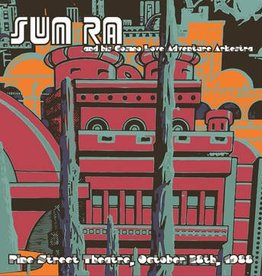 Sun Ra - Pine Street Theatre, October 28th, 1988 [2LP] (concert poster, limited to 2000, indie-retail exclusive)