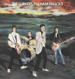 Lurkers, The - Fulham Fallout [LP] (Orange Vinyl, gatefold, 40th anniversary release, limited to 1500, indie-retail exclusive)