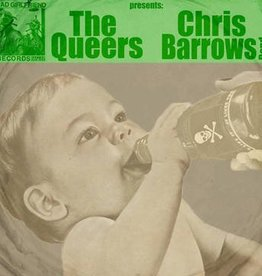 Queers, The & Chris Barrows Band - Split [7''] (Black & Green Vinyl, limited to 100, indie advance exclusive)