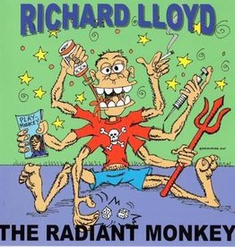Richard Lloyd - Radiant Monkey [LP] (Transparent Green Colored Vinyl, download, first time on vinyl, limited to 500, indie-retail exclusive)