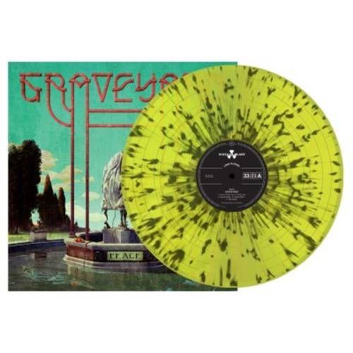 Graveyard - Peace (Yellow W/ Black Splatter Vinyl) (Indie Exclusive)