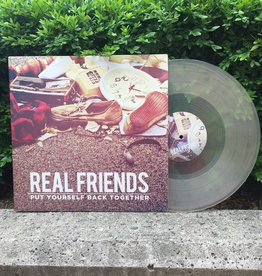 Real Friends - Put Yourself Back Together (Clear w/ Pistachio Splatter Vinyl)