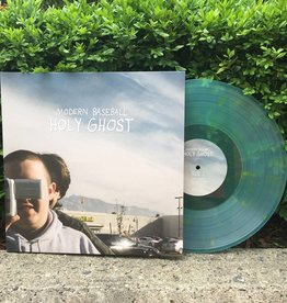 Modern Baseball - Holy Ghost (Blue with Yellow Splatter)