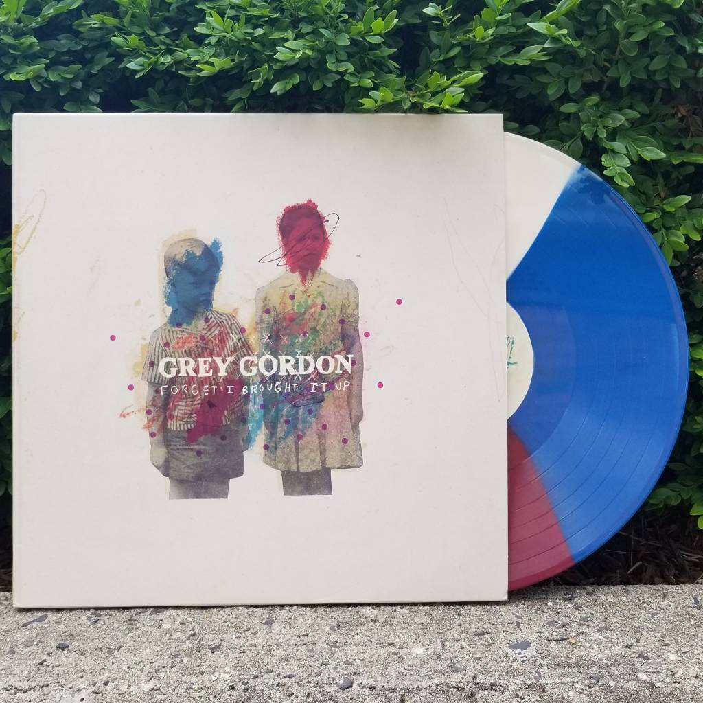 Grey Gordon - Forget I Brought It Up (Cream/Maroon/Blue Tri-colour Vinyl)