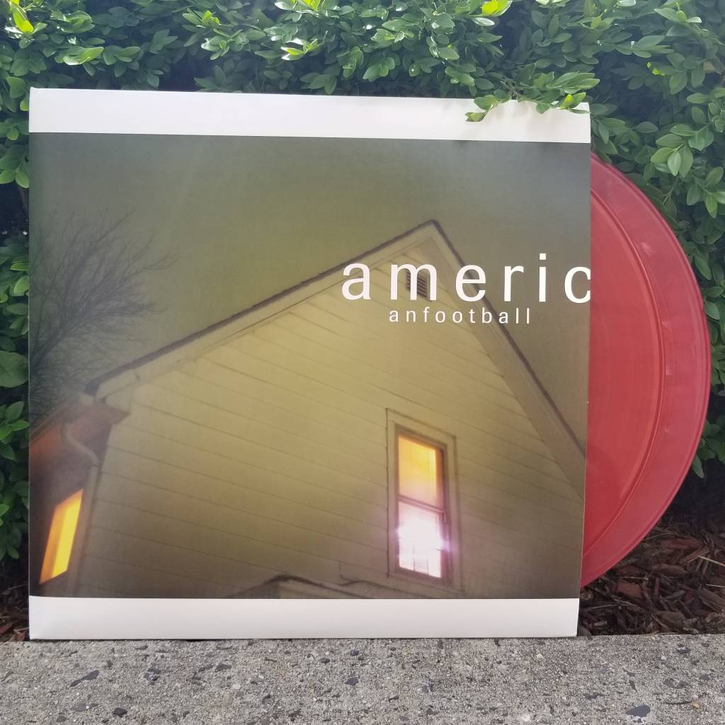American Football - Self-Titled (Deluxe 2xLP 180g red-colored vinyl)