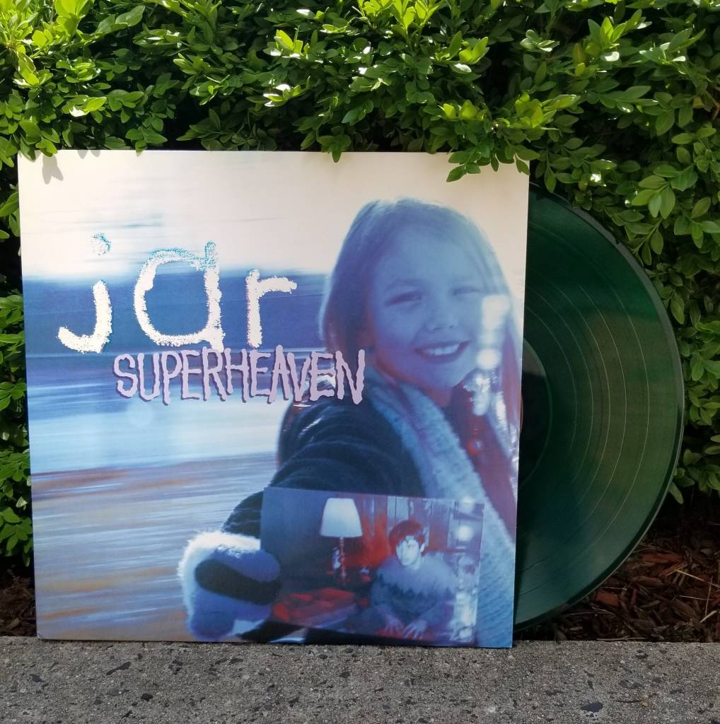 Superheaven (Daylight Name Change) - Jar (Green w/ Black Splatter)