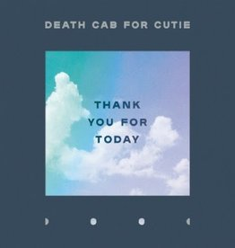 Death Cab For Cutie - Thank You For Today (Indie Only Clear Vinyl)