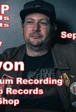 Trey Galyon Live Album Recording at Creep Records Smoke Shop