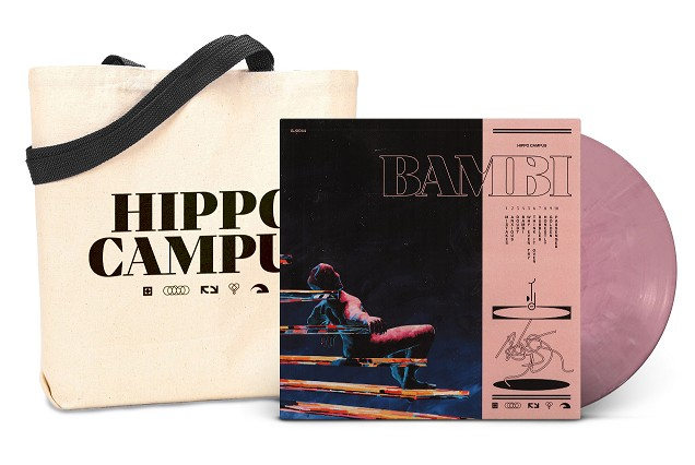 Hippo Campus - Bambi (Coral Colored Vinyl w/ Tote Bag)