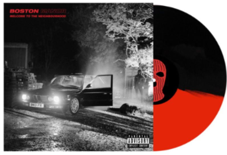 Boston Manor - Welcome to the Neighbourhood (Indie Exclusive Half Red / Half Black Vinyl Limited to 500)