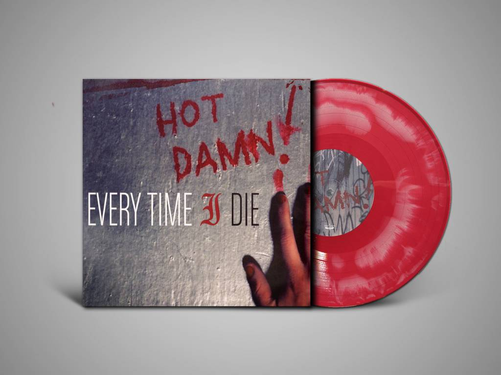 Every Time I Die - Hot Damn! (White with Red Starburst Vinyl)