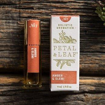 Petal & Leaf Holistic Aromatics Amber & Elemi Perfume