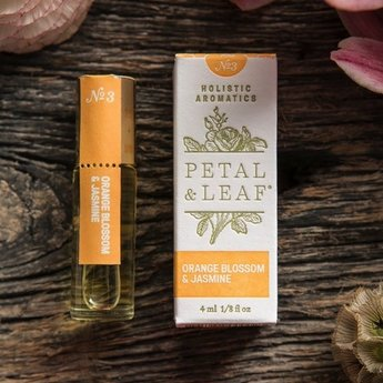 Petal & Leaf Holistic Aromatics Orange & Jasmine Perfume