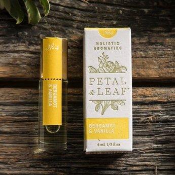 Petal & Leaf Holistic Aromatics Bergamont & Vanilla Perfume