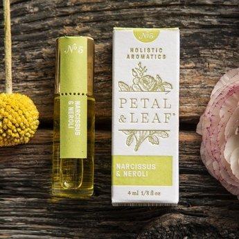 Petal & Leaf Holistic Aromatics Narcissus & Neroli Perfume