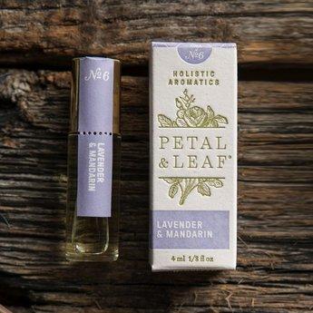 Petal & Leaf Holistic Aromatics Lavender & Mandarin Perfume