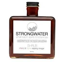 Strongwater Cherry and Thyme Shrub