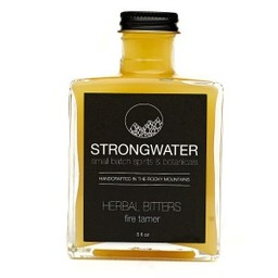 "Strongwater Fire Tamer ""Spicey Lemon-Ginger"" Bitters"