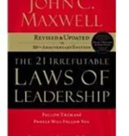 Maxwell, John 21 Irrefutible Laws of Leadership