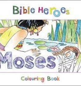 Mackenzie, Carine Bible Heros Colouring Book: Mos