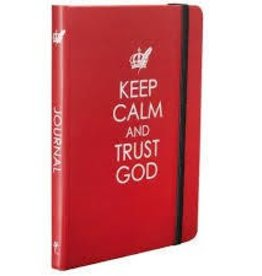Christain Arts Gifts Keep Calm and Trust God w/ Elastic Closure