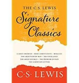 Lewis, C. S. C. S. Lewis Signature Classics, The: An Anthology of 8 C. S. Lewis Titles: Mere Christianity, The Screwtape Letters, Miracles, The Great Divorce, The ... The Abolition of Man, and The Four Loves
