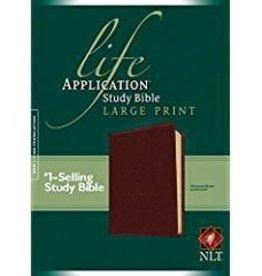 Tyndale NLT Life Application Study Bible, Large Print 7909
