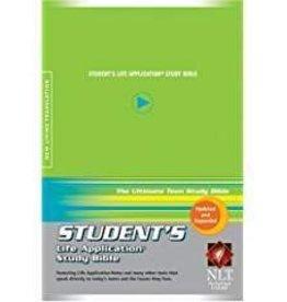 Tyndale NLT Student Life Application Study Bible, lime 9644
