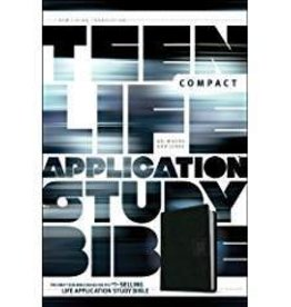Tyndale NLT Teen Life Application Bible Compact Ed., black 7550