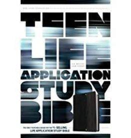 Tyndale NLT Teen Life Application Bible, black 2587