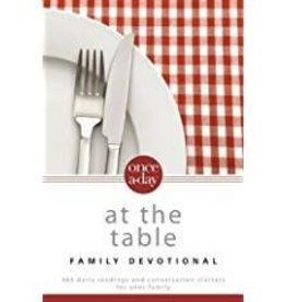 Hudson, Christopher Once-A-Day at the Table Family Devotion
