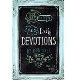 Hummel, Patti M Teen to Teen: 365 Daily Devotional by Teen Girls for Teen Girls