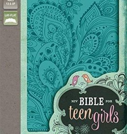 Zondervan NIV Bible for Teen Girls, turq 9882