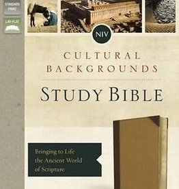Keener, Craig S NIV Cultural Backgrounds Study Bible, Indexed, Tan,  Red Letter Edition 4442
