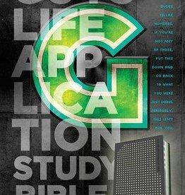 Tyndale NLT Guys Life Application Study Bible, TuTone (Glow in the dark) 5144